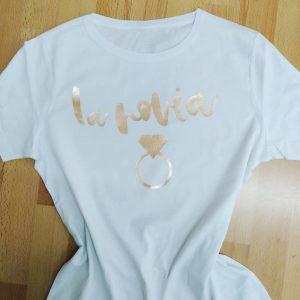 camiseta despedida la novia