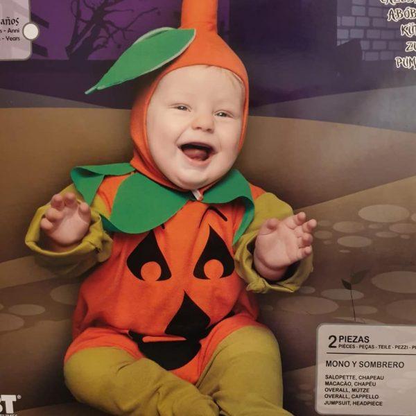 disfraz bebe hallowen calabacita