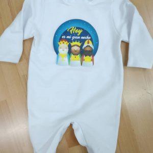 pijama bebe noche de reyes