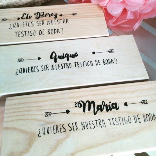 caja regalo testigo boda