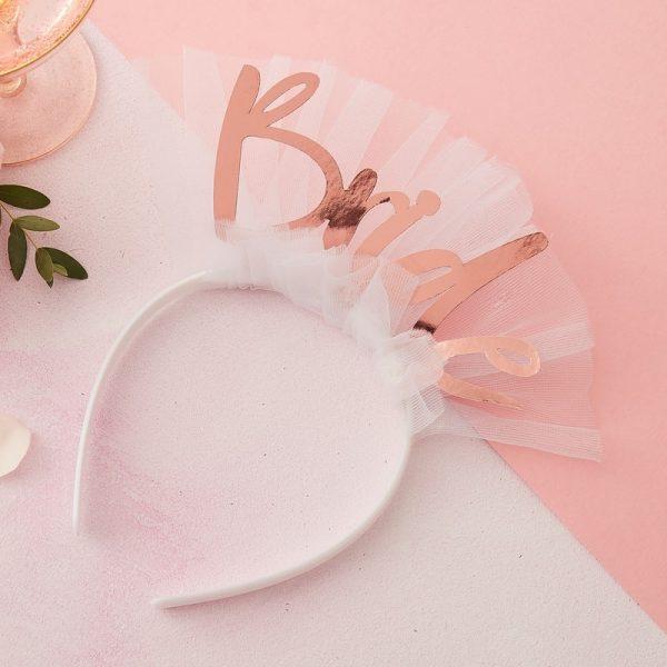 diadema despedida soltera bride