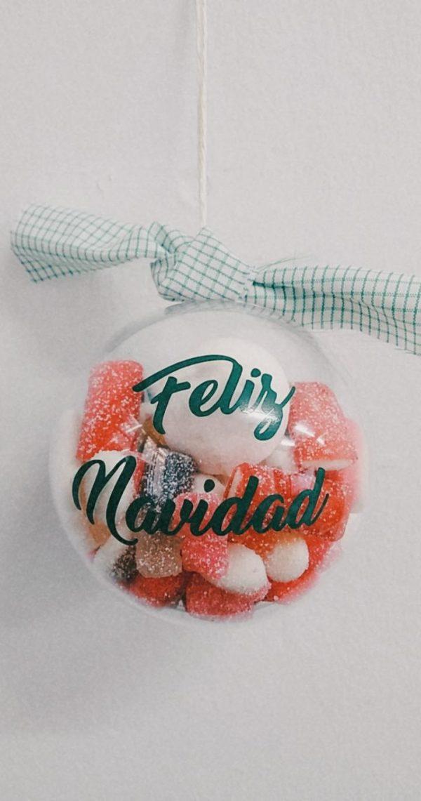 Bola de Navidad Personalizada Golosinas