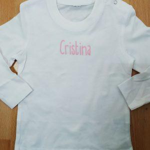 camiseta personalizada peque