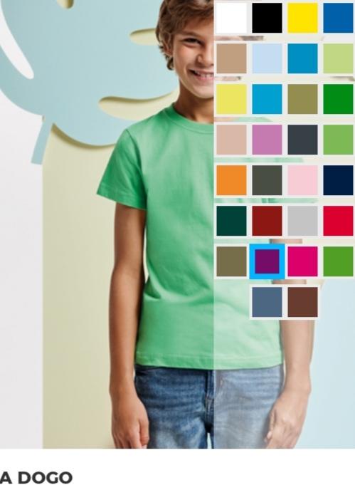 camisetas personalizadas de todos los colores