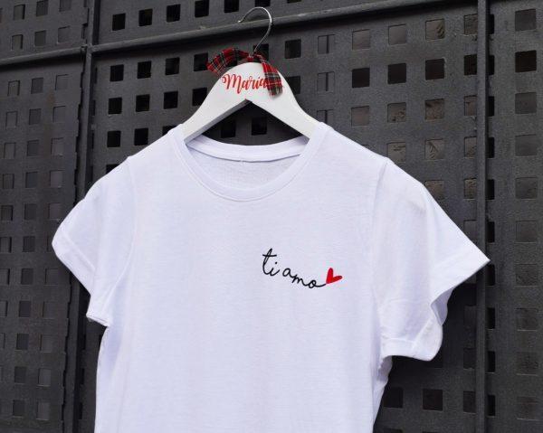 camiseta ti amo