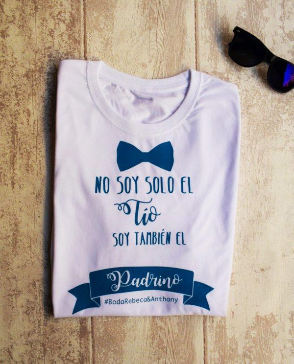 camiseta padrino boda