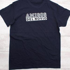 camiseta despedida amigos del novio