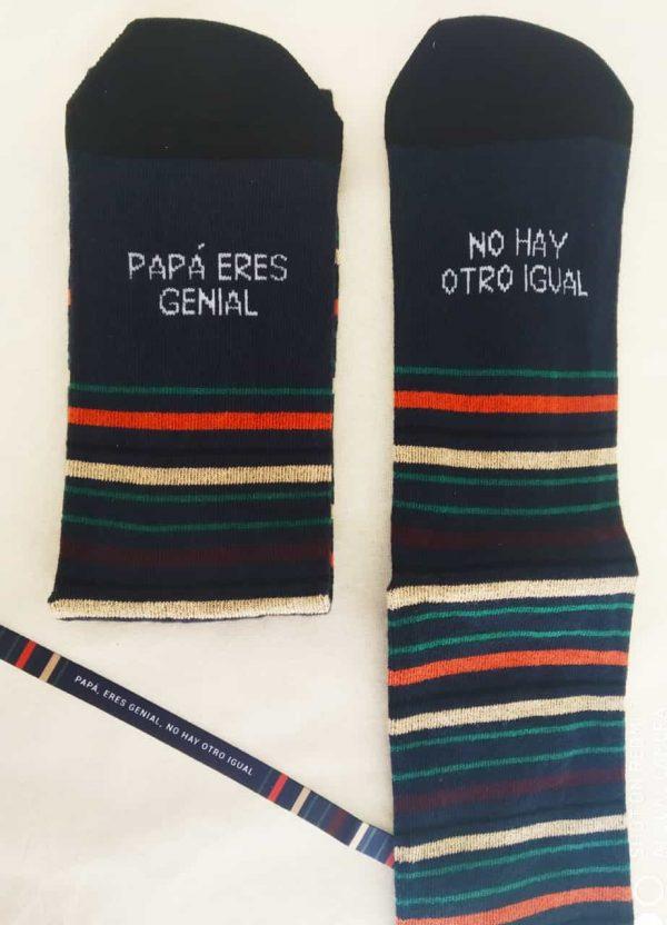 Calcetines y Pulsera Papá