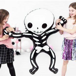 globo esqueleto halloween