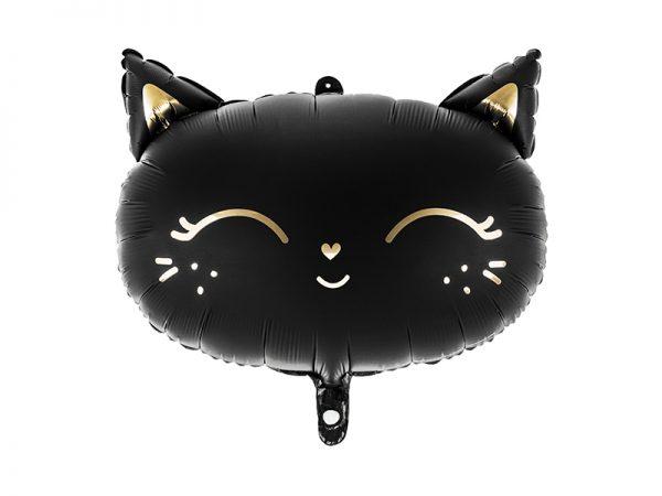 globo gato halloeen