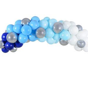 guirnalda globos azul