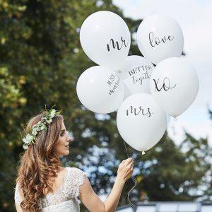 decoracion globos boda