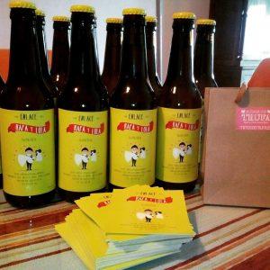cerveza personalizada boda