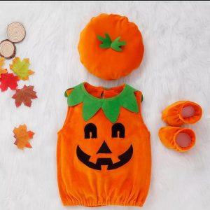 disfraz calabaza bebe haloween