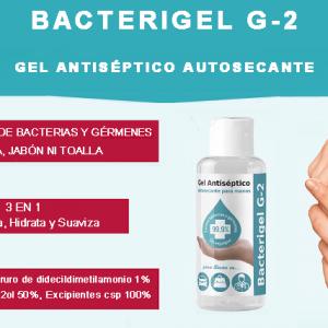 Gel de Manos Antiséptico Bacterigel G2