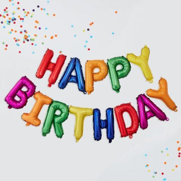 globos fiesta de cumpleaños
