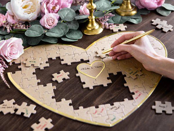 libro de firmas puzzle