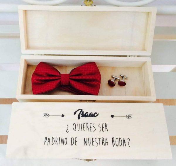 caja padrino de boda