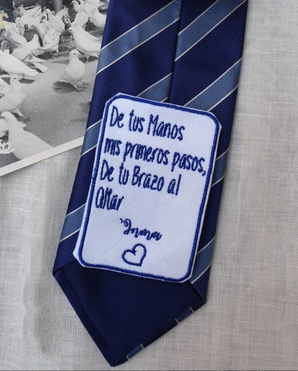 parche corbata padre de la novia