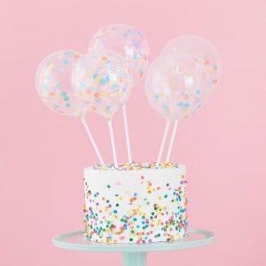 topper tarta globos