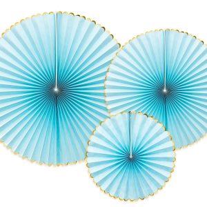 rosetones decoracion azul
