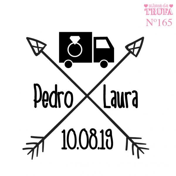 sello boda camion