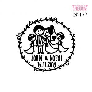 sello personalizado boda