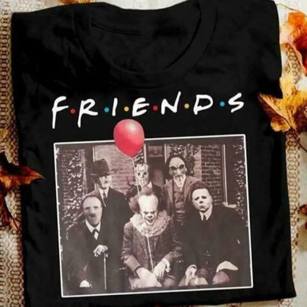 sudadera halloween amigos del terror